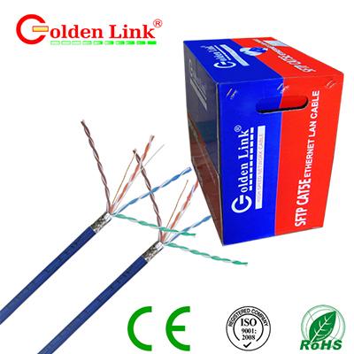 Dây cáp mạng Golden Link - 4 pair (SFTP Cat 5e) chống nhiễu