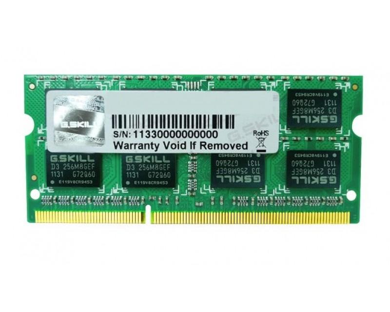 DDR3 2GB (1600) G.Skill F3-12800CL9S-2GBSQ
