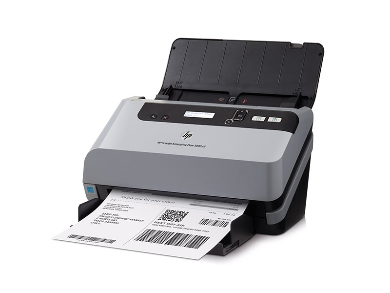 HP Scanjet Enterprise Flow 5000 s2 Sheet-feed Scanner (L2738A)