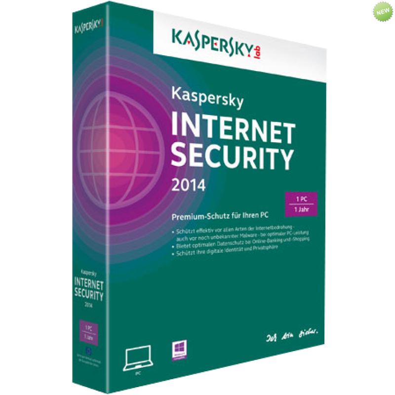 Kaspersky Internet Security 2015/1PC