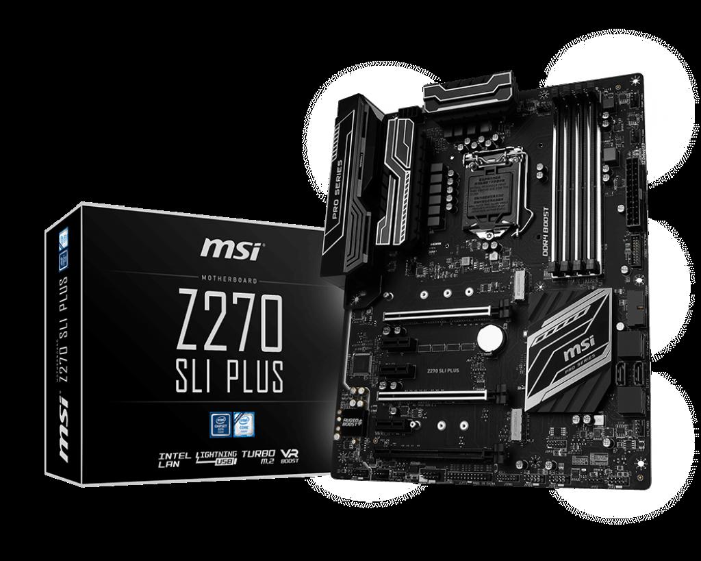 Mainboard MSI Z270 SLI PLUS Socket 1151 ( Z270 SLI PLUS)
