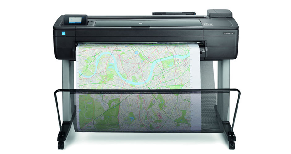 Máy in khổ lớn HP DesignJet T730 36-in (914-mm) Printer (F9A29A)