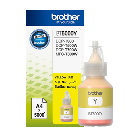 Mực in Brother BT5000Y, Yellow Ink bottle (BT5000Y)