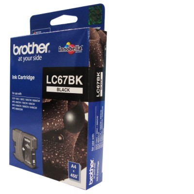 Mực in Brother LC 67 Black Ink Cartridge (LC 67BK)