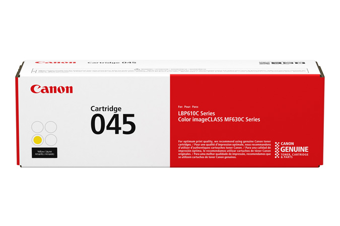 Mực in Canon 045 Yellow Toner Cartridge (EP-045Y)