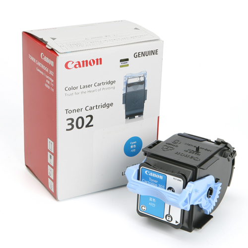 Mực in Canon 302 Cyan Toner Cartridge