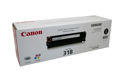 Mực in Canon 318 Black Toner Cartridge