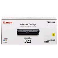 Mực in Canon 322 Yellow Laser Cartridge