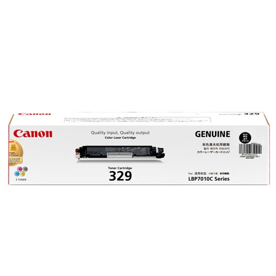 Mực in Canon 329 Black Toner Cartridge