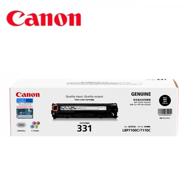 Mực in Canon 331 Black Toner Cartridge