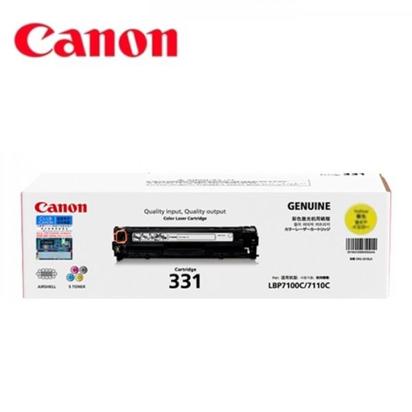 Mực in Canon 331 Yellow Toner Cartridge