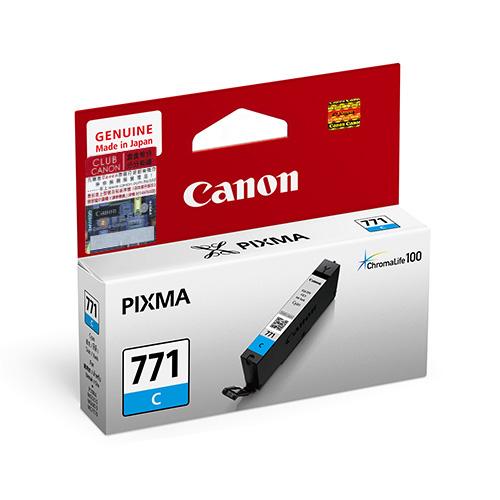 Mực  in Canon CLI-771C Cyan Ink Tank
