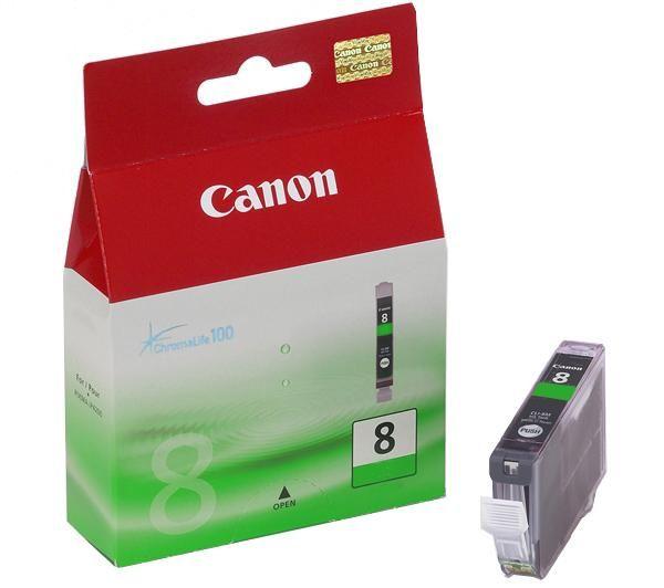 Mực in Canon CLI 8 Green Ink Tank