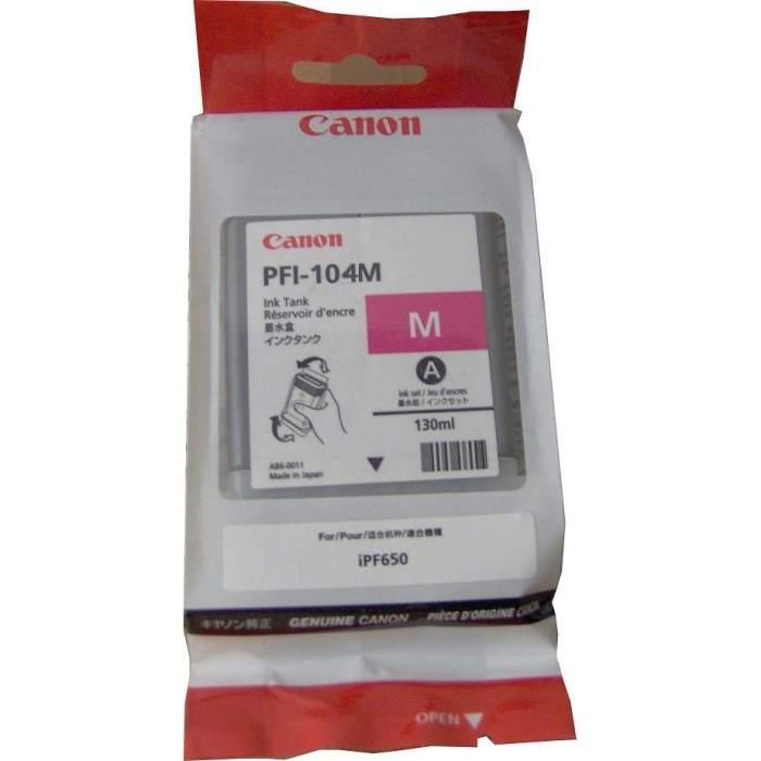 Mực in Canon PFI-104 Magenta Ink Tank (PFI-104M)