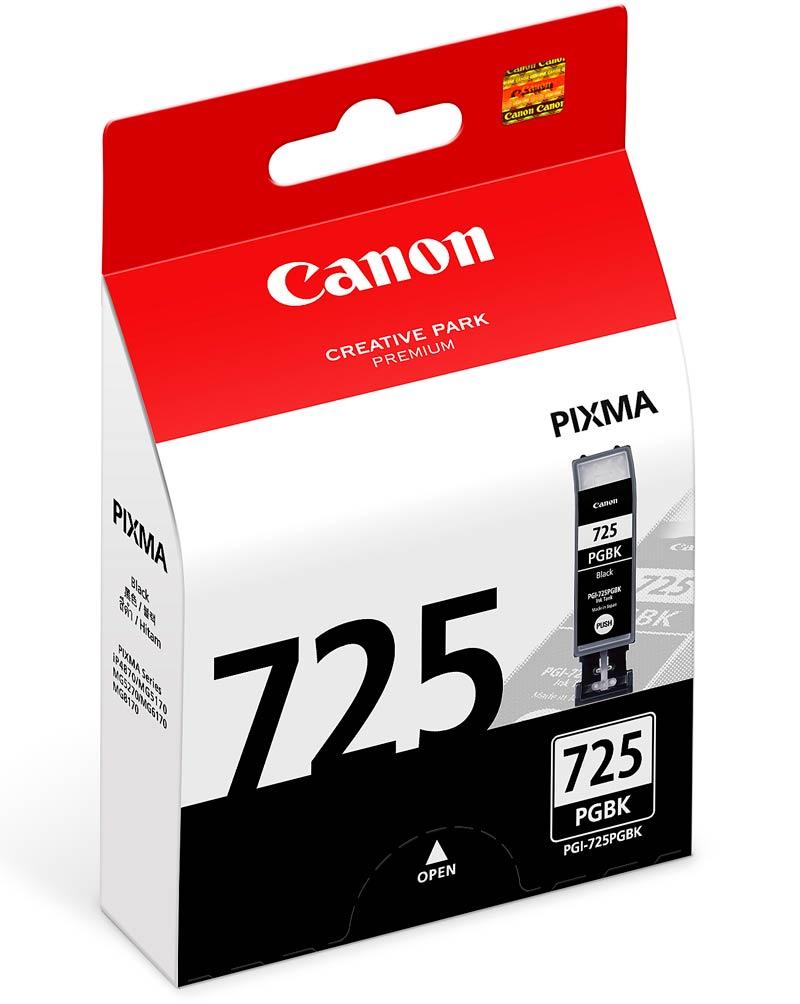 Mực in Canon PGI 725BK Black Ink Tank