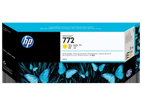 Mực in HP 772 300-ml Yellow DesignJet Ink Cartridge (CN630A)