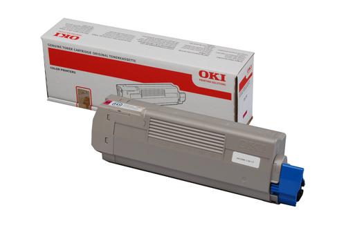 Mực in Oki C610M Magenta Toner Cartriddge