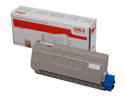 Mực in Oki C711 Black Toner Cartridge