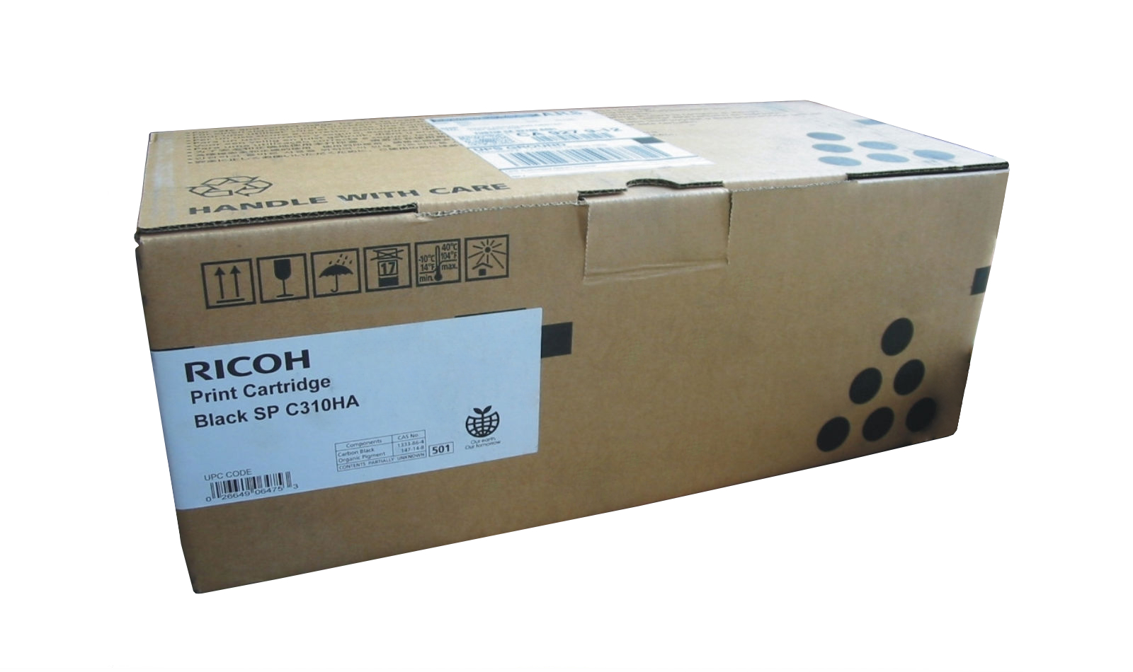 Mực in Ricoh C310HS Black Toner Cartridge (406483)