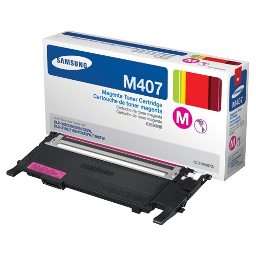 Mực in Samsung CLT M407S Magenta Toner Cartridge