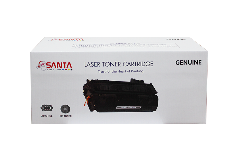 Mực in Santa 504A Black LaserJet Toner Cartridge