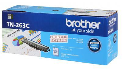 Mực máy in Brother TN-263C chính hãng màu xanh