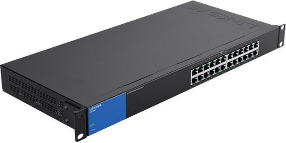 Switch Linksys LGS124P, 24-Port Desktop Business Gigabit PoE (LGS124P)