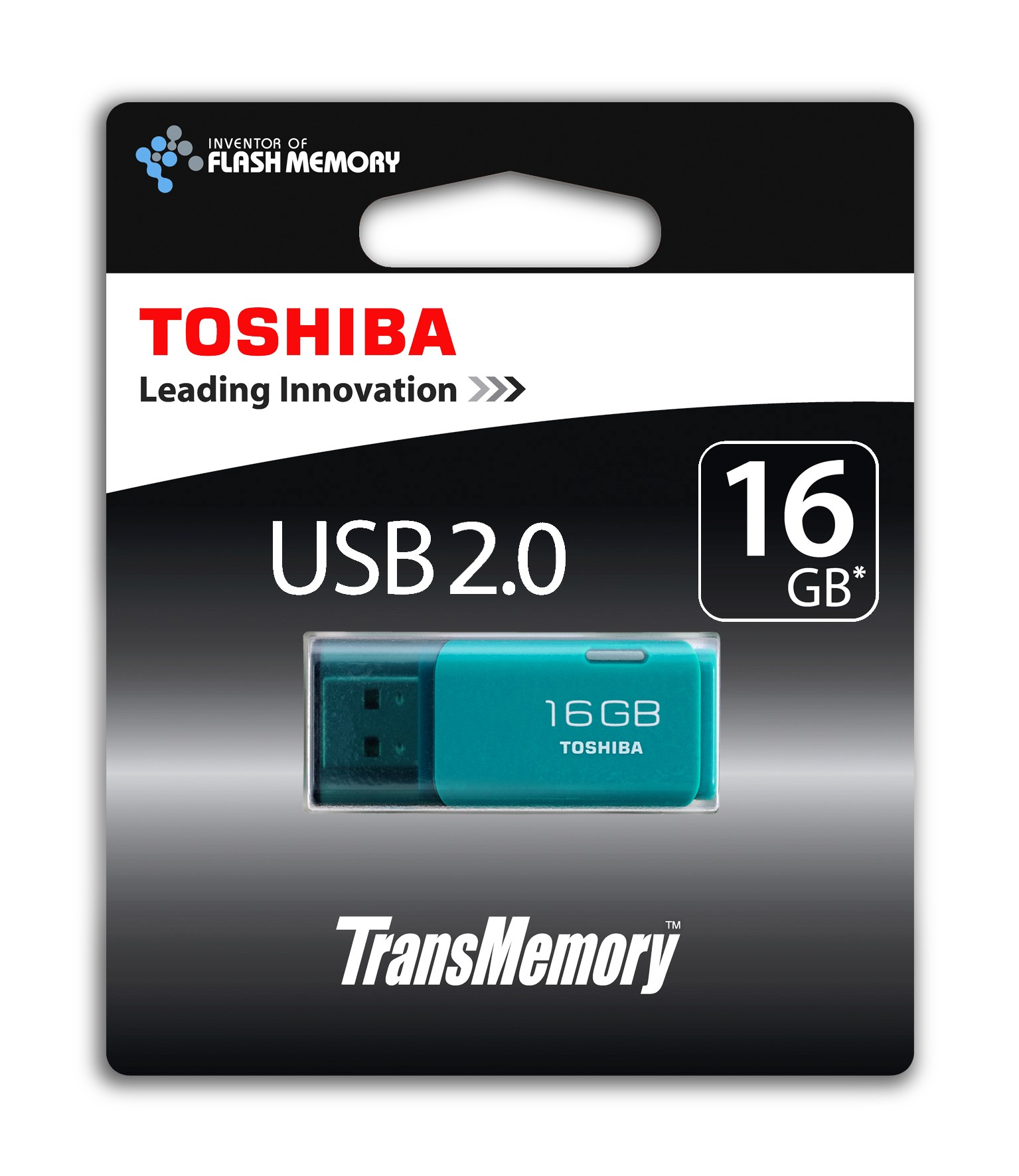 USB 16GB Toshiba TransMemory U202 Aqua (THN-U202L0160E4)